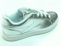 Reebok Class Royal Comp Girls Shoes Trainers Uk Size 2.5     CN1288  Rose Silver