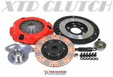 XTD STAGE 3 DUAL FRICTION CLUTCH & X-LITE FLYWHEEL 89-91 RX-7  *w/Counter weight