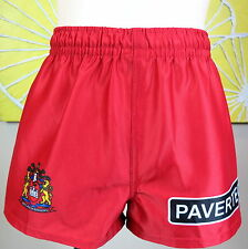 WIGAN WARRIORS home shorts KIDS SIZE 10