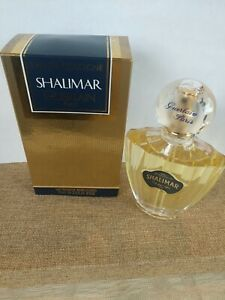 SHALIMAR Guerlain Eau de Cologne EDC Reusable Spray 2.5 fl.oz * 2000 Vintage*