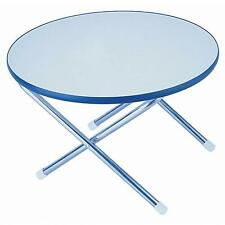"""Garelick 50410:01 Folding Deck Table Melamime 24"""" Round Eez-In"""
