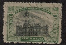 Mexico,Revolution,Scott#628b,5 pesos,with center $1.,MH,Scott=$800
