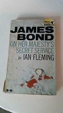 IAN FLEMING-JAMES BOND-ON HER MAJESTYS SECRET SERVICE 1965 6TH PRINTING