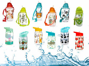 Kids Drinking Water Bottle Children Toddler Milk Bottle School Reusable BPA Free