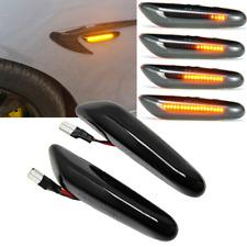 2X Sequential LED Side Marker Turn Signal Light For BMW E46 E90 E91 E92 E60 E87