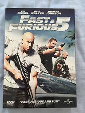 Original DVD Movie - Fast & Furious 5