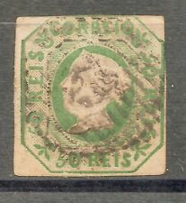 PORTUGAL-D. MARIA II -1853-- 50 REIS-used -Y&T-3-Afinsa-3(FIRST PORTUGAL STAMP)