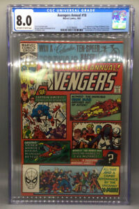 Avengers Annual #10 - First Appearance Of Rogue & Madeline Pryor - CGC 8.0