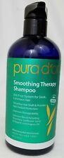 Pura d'or  Smoothing Therapy Shampoo Anti-Frizz 16 fl oz  473 ml, 80%Organic