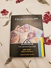 Prismacolor Premier Art Stix Woodless Colored Pencils - 12-Count