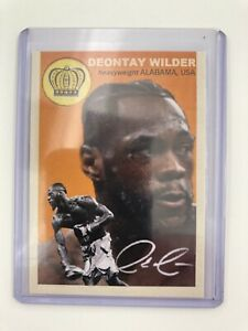 2018 Deontay Wilder Retro Art Boxing Trading Card #23/25💎 Rookie
