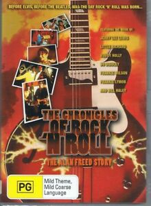 THE ALAN FREED STORY DVD The Chronicles Of Rock 'N' Roll NEW & SEALED Free Post
