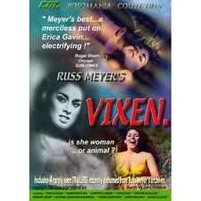 Russ Meyer's VIXEN (DVD) Rare UNCUT Cult Classic! Starring Erica Gavin