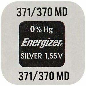 4 x Energizer 371-370 SR920SW AG7 SR920W  Silver 1,55V  Uhren Batterien