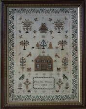 Antique Sampler, 1835, By Mary Ann Willmot