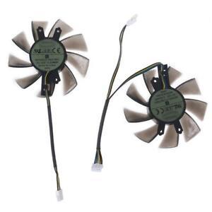 T129215BU VGA Fan for GALAX GTX 1060 KFA2  Graphics Card Cooling 4Pin 12V 0.50A
