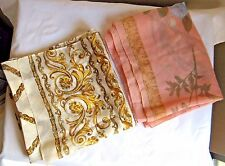 NWT Lot of 2 Women's VINTAGE SCARVES ITALY NOS Accessories Wraps C3