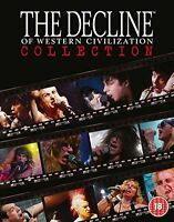 The Decline of Western Civilization Collection  4 Disc Box Set [Blu-ray]