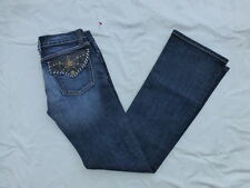 JUNIORS KAN CAN BOOTCUT JEANS SIZE 7x33 #W2298