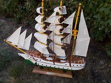 Ship Model, Sailing Ship, Gorch Fock Model , Maritime Decoration, Wooden 4663