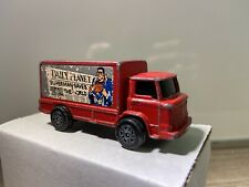 VINTAGE CORGI JUNIORS SUPERMAN DAILY PLANET RED DELIVERY TRUCK LEYLAND TERRIER