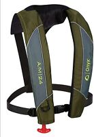 Absolute Outdoor Onyx A/M-24 Automatic/Manual Inflatable Life Jacket - Green,