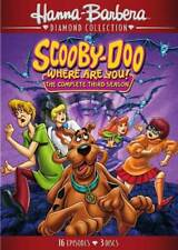 SCOOBY-DOO, WHERE ARE YOU! - SEASON 3 NEW DVD