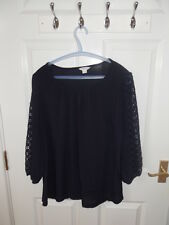 Ladies Blue Top from Monsoon. Size 14