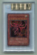 Yu-Gi-Oh Game Boy 2002 Ultra Rare God Card Slifer the Sky Dragon GB1-001 BGS 9.5