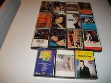 Cassette Lot Of15/Rock & Pop &More/L@K!