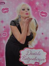 DANIELA KATZENBERGER - A4 Poster (ca. 21 x 28 cm) - Clippings Fan Sammlung NEU