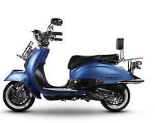 Retro Roller Mofa Motorroller 25 45 KmH  49 50 ccm Blau EASYCRUISER BASIC NEU
