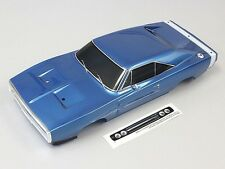 Kyosho FAB404 Dodge 1970 Charger Blue Painted Body : 1/10 200mm / Fazer Vei