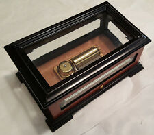 """Reuge Exclusive Crystal Box With 1.50 Note Reuge Movement-""""Waltz Of The Flowers"""""""