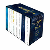 Throne of Glass 8 Books Collection Box Pack Set By Sarah J Maas Paperback New