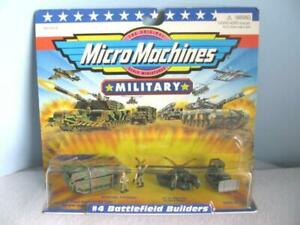 GALOOB Military MICRO MACHINES 1998 #4 Battlefield Builders FACTORY SEALED-