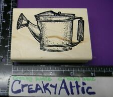 WATER CAN BUCKET RUBBER STAMP MUSEUM OF MODERN K715 CREAKYATTIC
