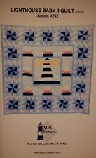 Quilt Pattern Lighthouse Baby II by M & L Designs