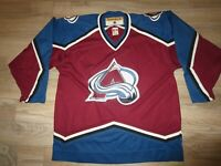 Colorado Avalanche Avs KOHO NHL Hockey Jersey Large LG mens