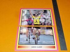 #307-308 L. JALABERT MERLIN GIRO D'ITALIA CICLISMO 1995 CYCLISME PANINI TOUR