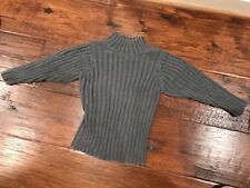 The Children's Place Gray Ribbed Sweater in Boys Size Xs (4)