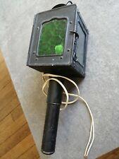 Ancienne lanterne de calèche ou fiacre