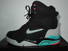 Nike Air Command Force 684715 001 UK 7 EU41 Black & Wolf Grey Excellent Condt!