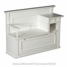 b nke mit aufbewahrungsf chern aus massivholz f r den flur die diele g nstig kaufen ebay. Black Bedroom Furniture Sets. Home Design Ideas