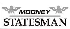 A088 Mooney Statesman Airplane banner hangar garage decor Aircraft signs