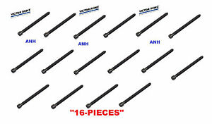 16-Pieces OEM Reinz Engine Head Bolts Audi A4 A6 All Road 6 Cylinder