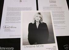 Christine Mcvie 'In The Meantime' 2004 Press Kit-Photo
