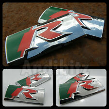 JAGUAR TYPE R PERFORMANCE CHROME WING BADGES XK XJ XJR XKR X S SPORT XFR XF XK