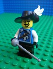 Lego Musketeer Sword minifig Pirates City Town 8804 Minifigures Series 4