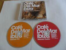 Café del Mar Ibiza - Volumen Tres y Cuatro (2CD  2010)